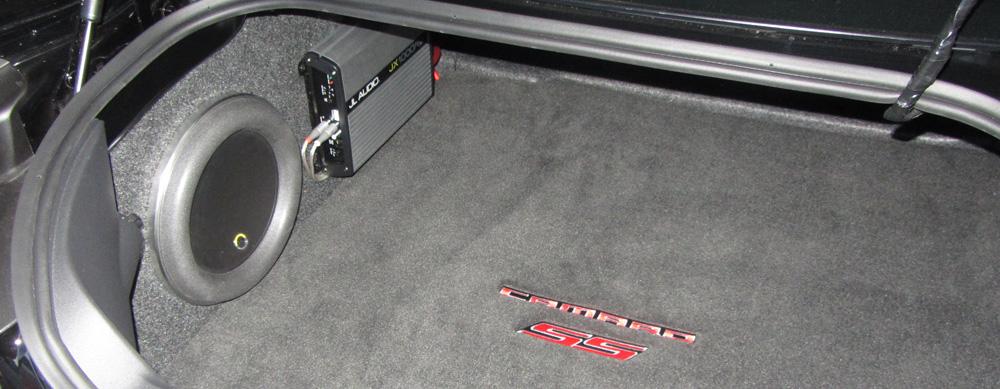 Camaro Aftermarket Subwoofer Install Part 1 – Jl Audio Subwoofer Amp Wiring